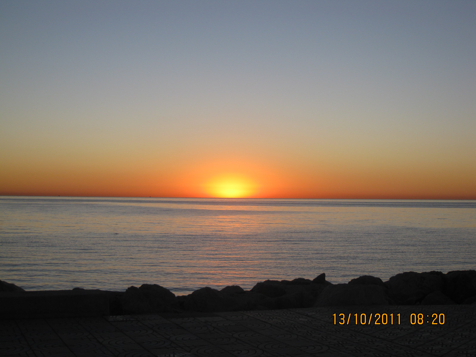 October Sunrise 2011
